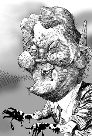 Ющенко , восставший из зада