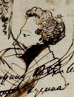 Пушкин - автопортрет